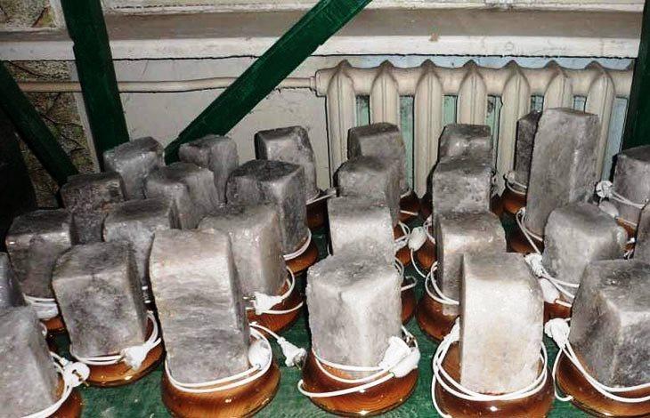 Изготовление солевой лампы