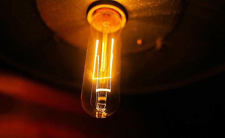 Ретро лампа Эдисона Т10