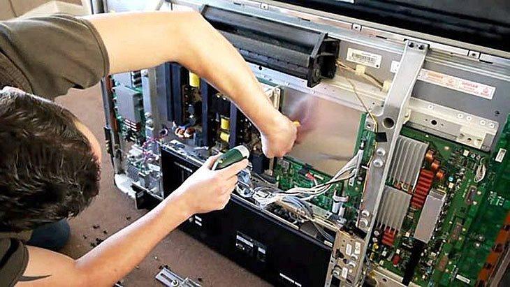 Ремонт телевизора самсунг своими руками