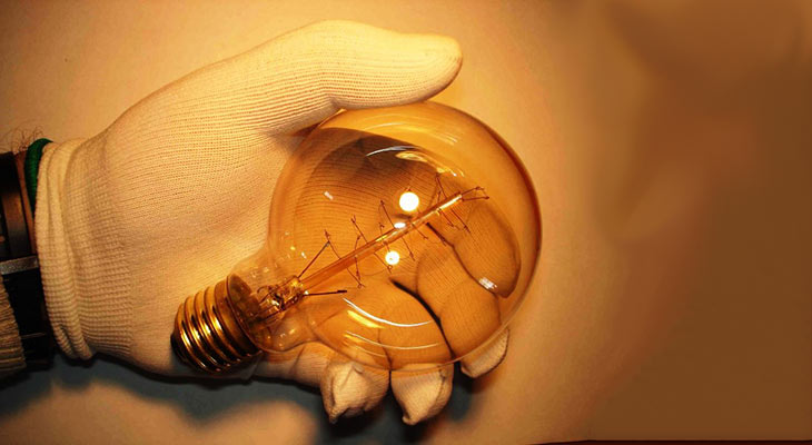 Электрическая лампа Эдисона, 40 ватт, 220 вольт