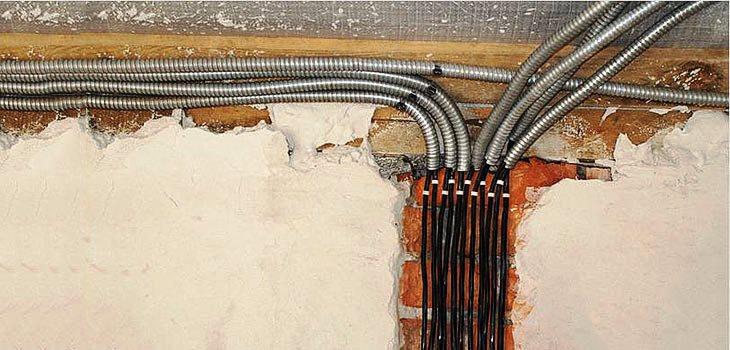 Выбор кабеля и провода для электропроводки