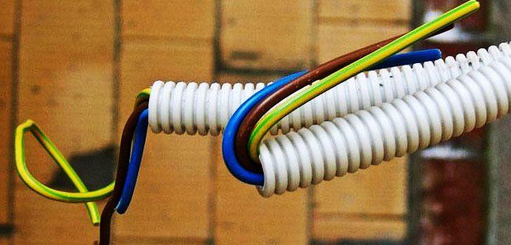 Использование ПВХ гофры в электрике
