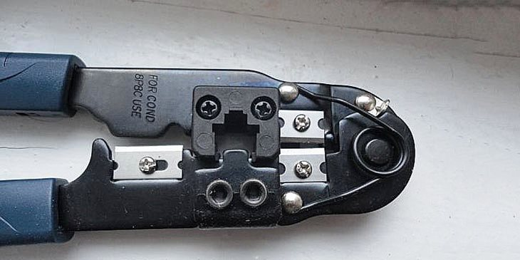 Обжимной инструмент, кримпер НТ-210С