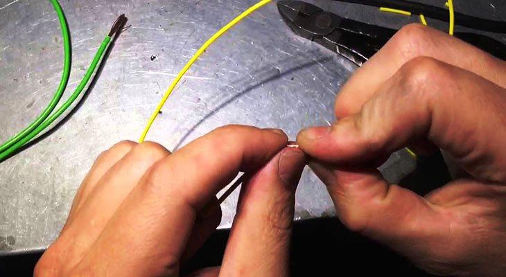 Как спаять провода