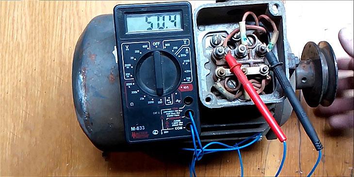 Как прозванивать электродвигатель