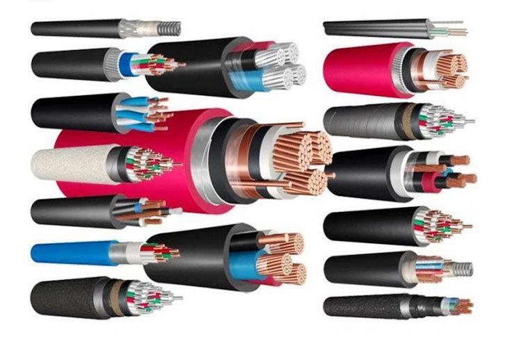 Силовые кабели с ПВХ изоляцией
