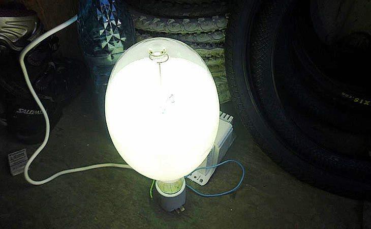 Дуговая ртутная фито лампа ДРЛФ 400W для растений