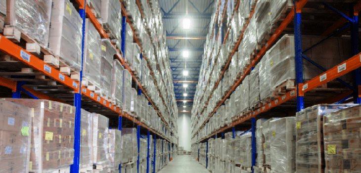 Освещению складов и стеллажей