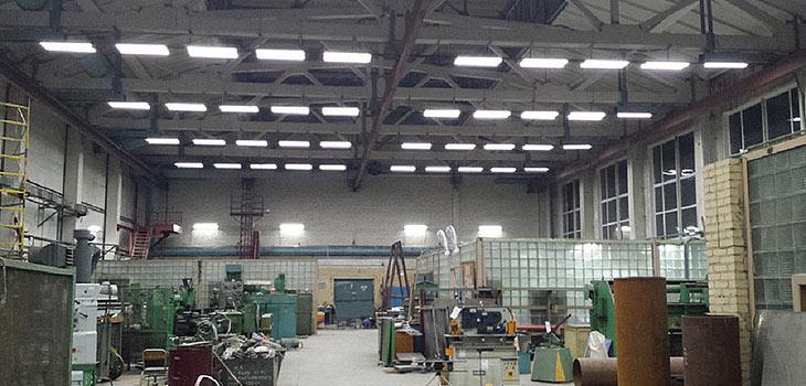 Промышленное освещение складов