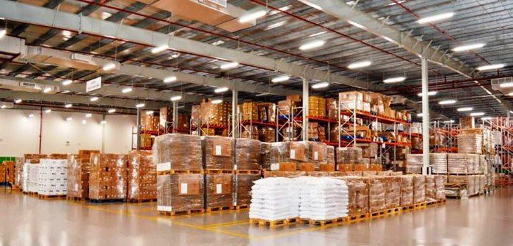 Освещение складских комплексов