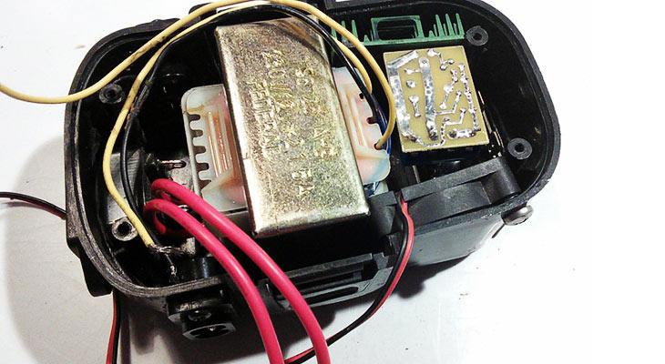 Изготовление БП на базе аккумулятора шуруповерта