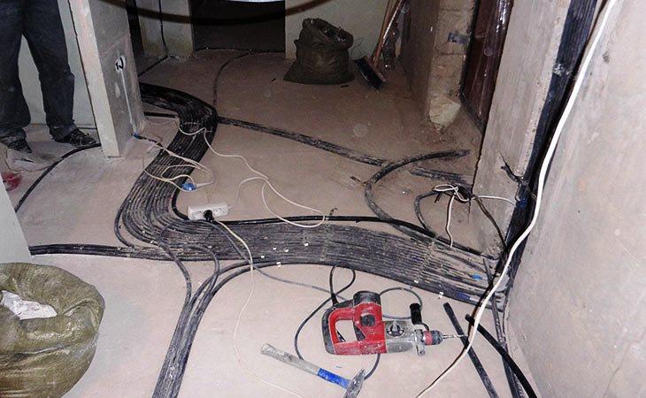 Электромонтажные работы в сталинских домах