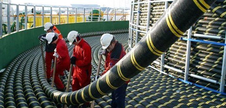 Подводный силовой кабель ветряной электростанции