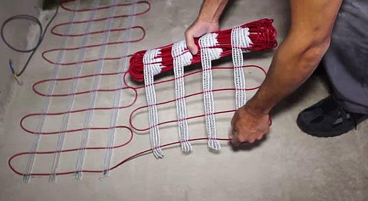 Монтаж тёплого электрического пола своими руками
