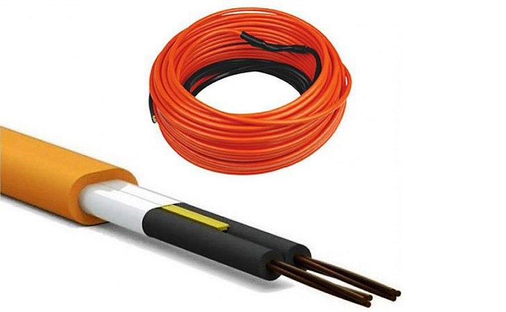 Двужильный нагревательный кабель Ratey(Ратей) TIS 0,37 кВт