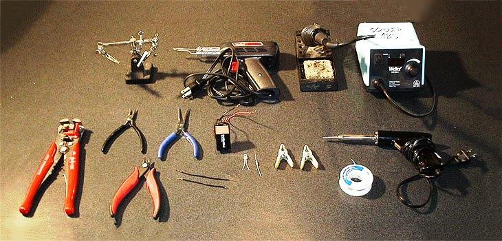 Оборудование для пайки медных проводов