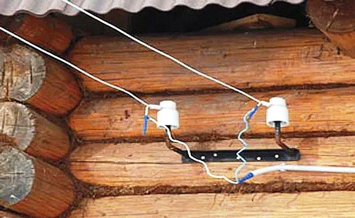 Электрический провод для наружной проводки