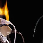 Чем тушить электропроводку