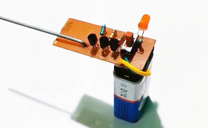 Простой детектор скрытой проводки