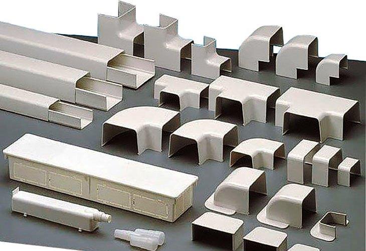 Короб пластиковый производства Elettrocanali
