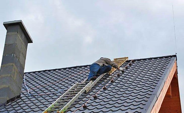 Молниезащита крыши