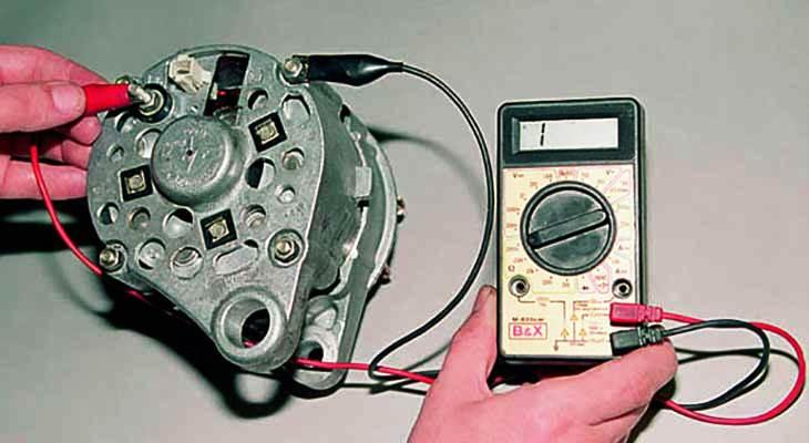 Как проверить зарядку генератора и аккумулятора