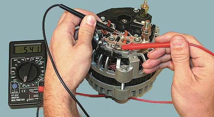 Как проверить генератор на автомобиле LADA