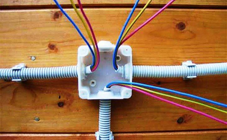 Электропроводка на даче своими руками