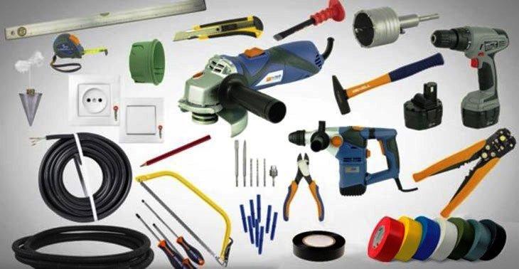 Необходимые для монтажа инструменты