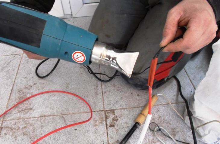Как нарастить длину провода термодатчика для теплого пола