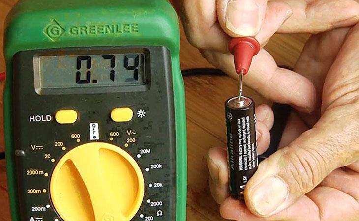 Простой способ проверить заряд батареи