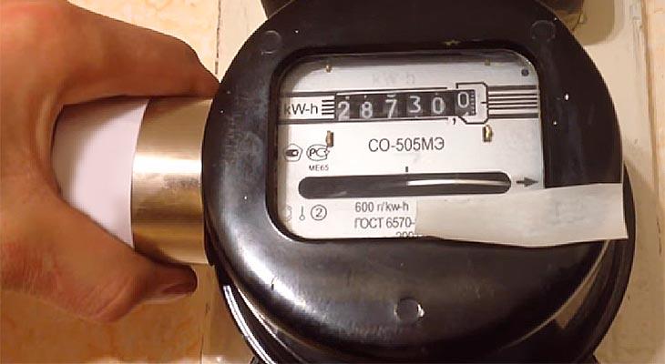 Испробованные схемы обмана электросчетчика