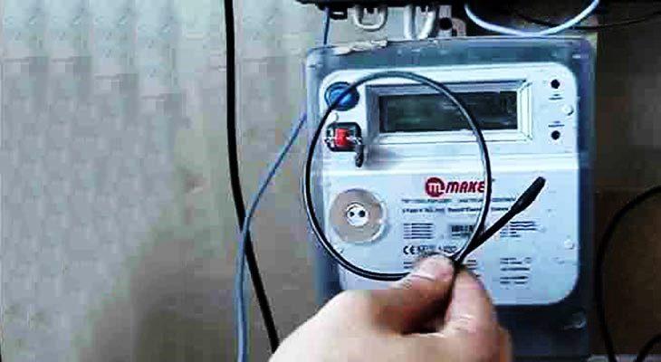 Как остановить / отмотать электросчетчик