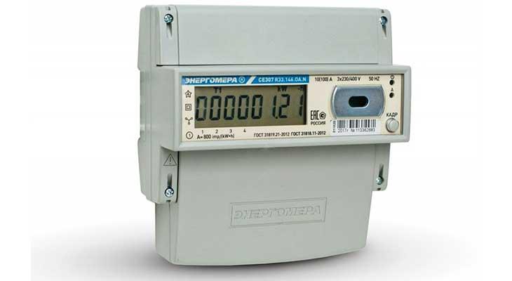 Счетчик электроэнергии CE307 R33.145.ОA.N трехфазный