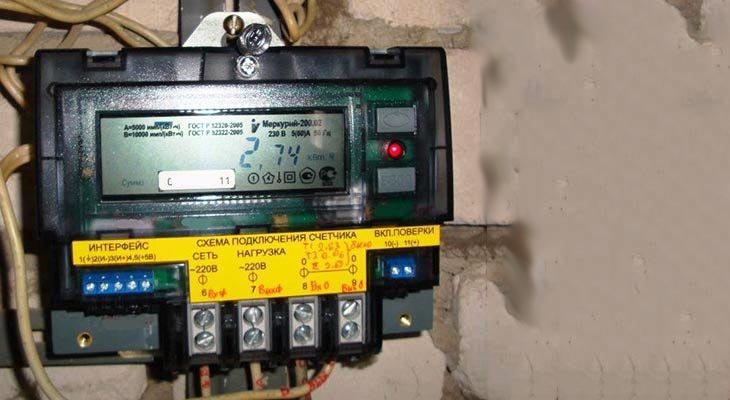 Сроки замены электросчетчика