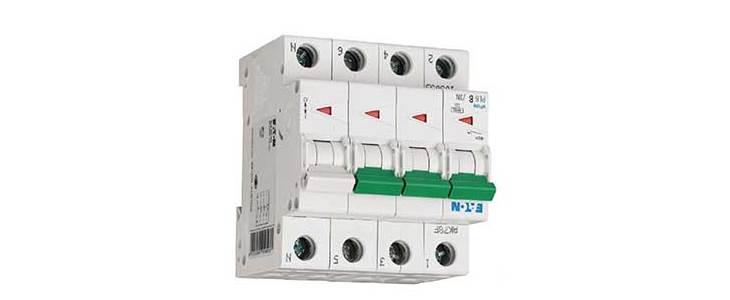 Автоматический выключатель EATON PL6-B32/3N (106040)