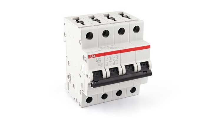 Автоматический выключатель АВВ S204 В16