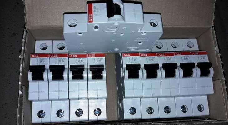 Автоматический выключатель ABB B16 Германия