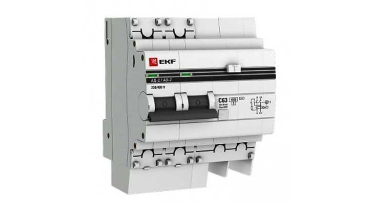 Дифференциальные автоматы серии АД-2, АД-4 (S) EKF PROxima