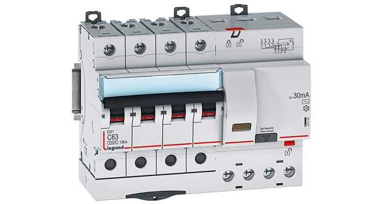 Legrand DX³ Дифференциальный автомат 4П C 63A 30mA-AC